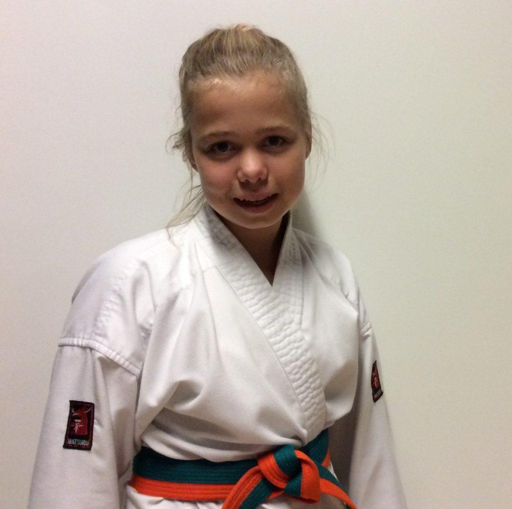 Leerling van dé karateschool voor Burgum en omstreken