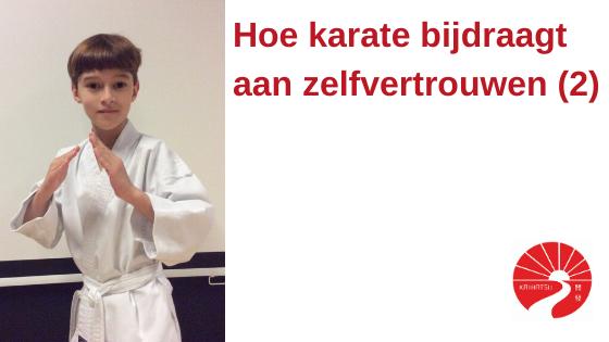 Hoe karate bijdraagt aan zelfvertrouwen (2)